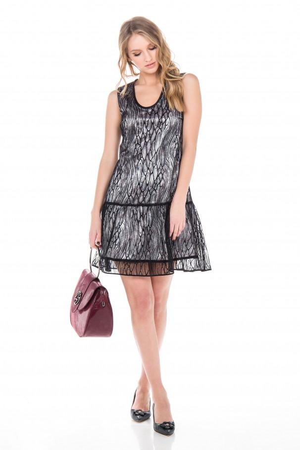 Vestido Reversible Twist & Shine
