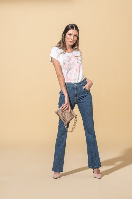 Jeans flare Flora Sustainable