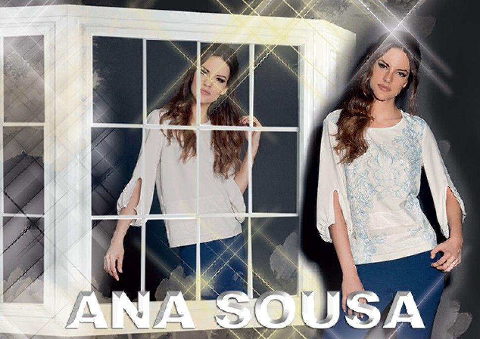 ANA SOUSA innovates again with the In & out Tunic