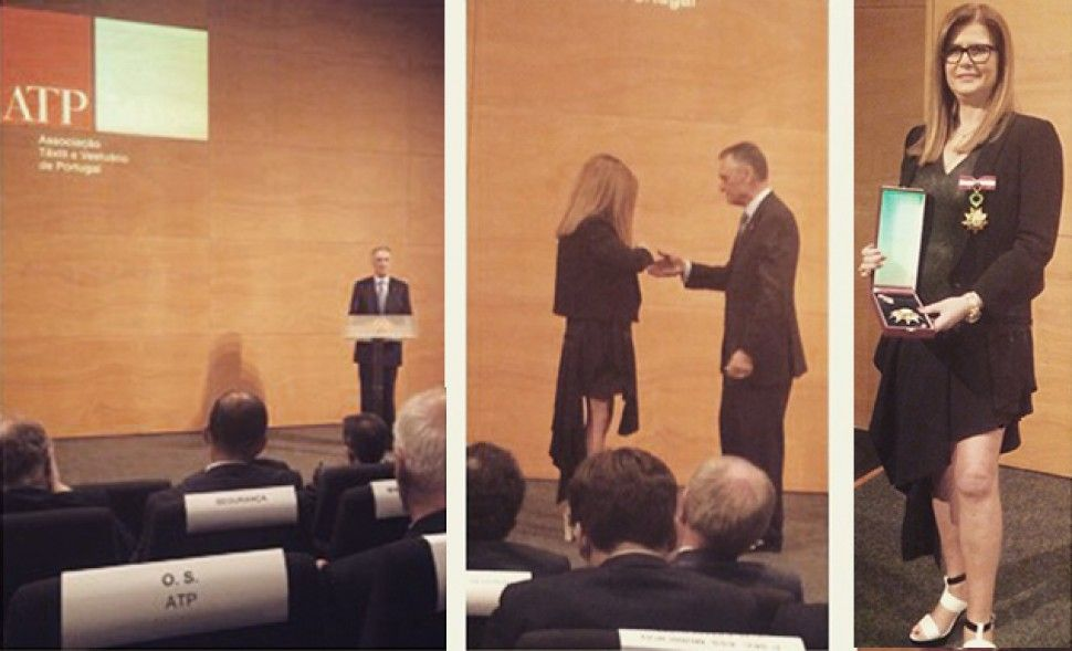 ANA SOUSA awarded with Business Merit Medal