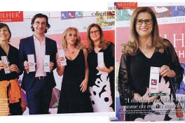 ANA SOUSA wins 2015 WOMAN + FLASH award in the Business category