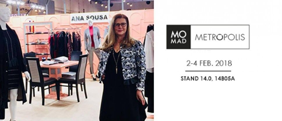 ANA SOUSA participates in the MoMad Metropolis Fair