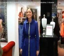 A Ministra da Industria de Espanha visitou uma loja Ana Sousa e ficou encantada com a Parka da Nova Coleção!