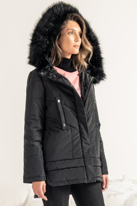 'A' shaped Parka