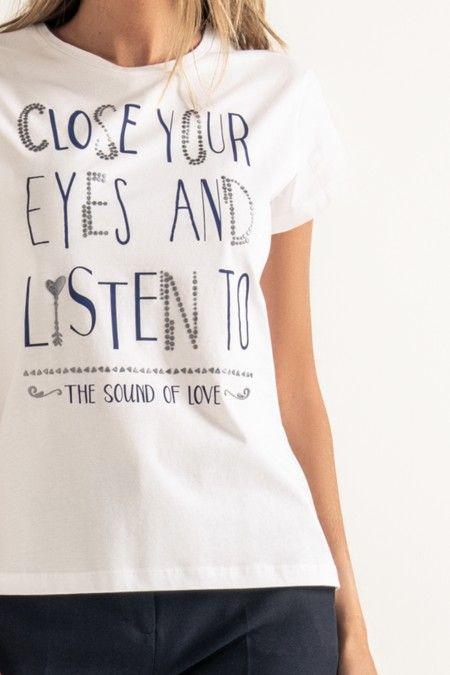 T-shirt manga curta