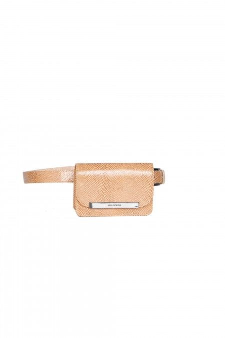 Bolsa de cintura gravada