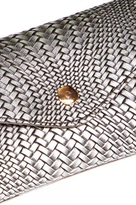 Grained waist bag