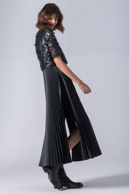 Vestido com lantejoulas