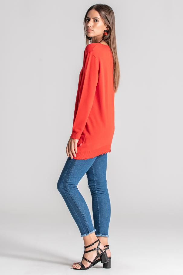 Pullover manche longue