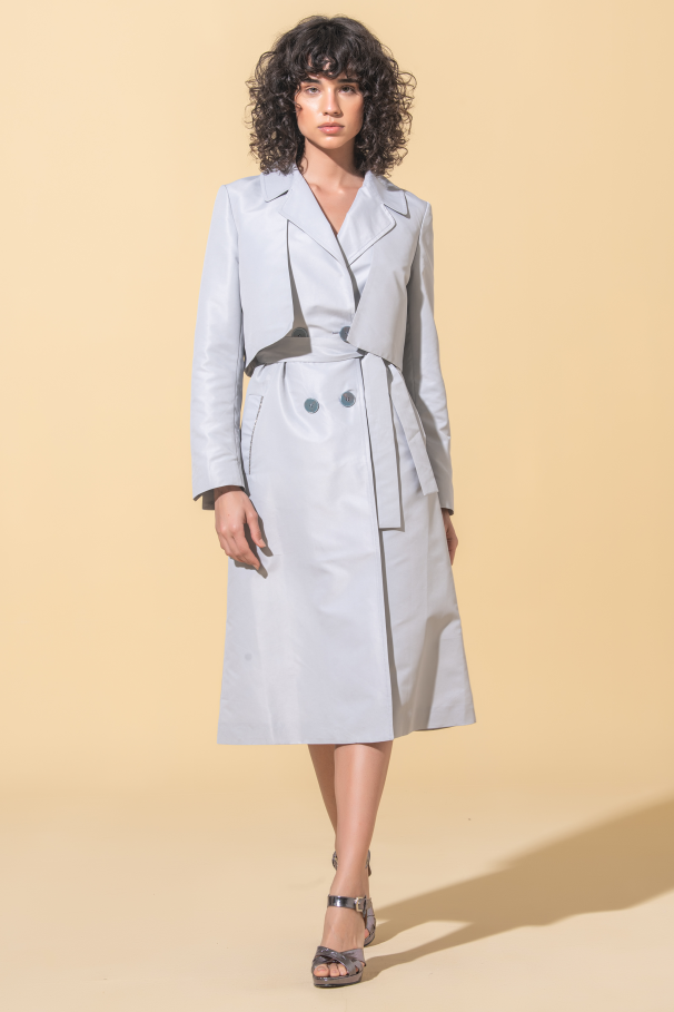 Trench-coat long