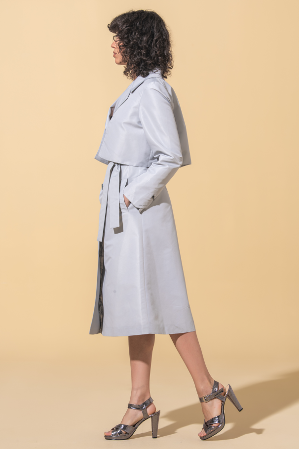 Trench-coat long