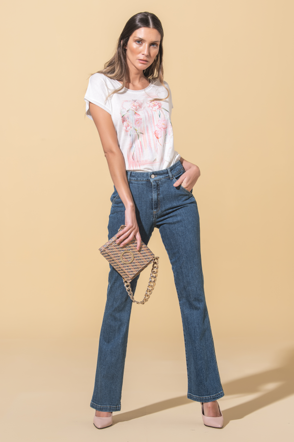 Flare Flora jeans Sustainable