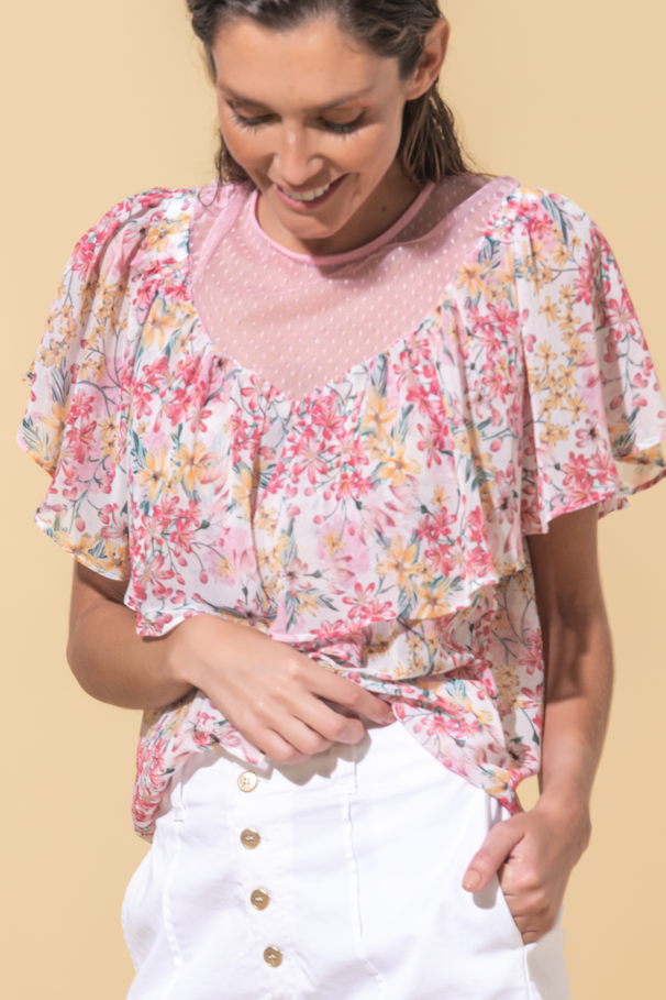 Frilly blouse