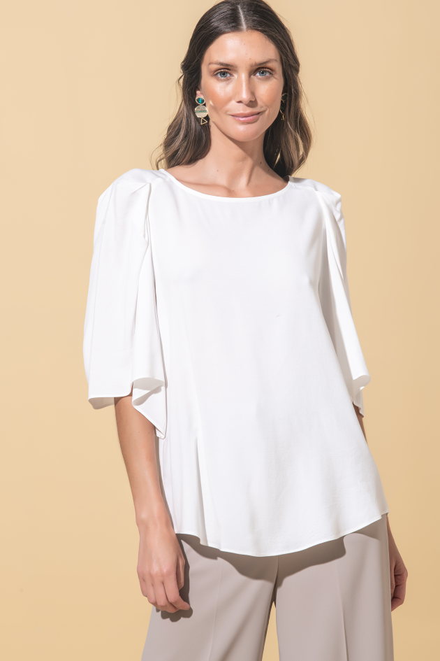 Tunic batwingt sleeves