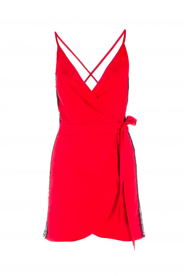 Traced dress