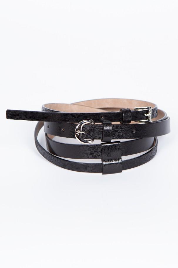 Double thin belt