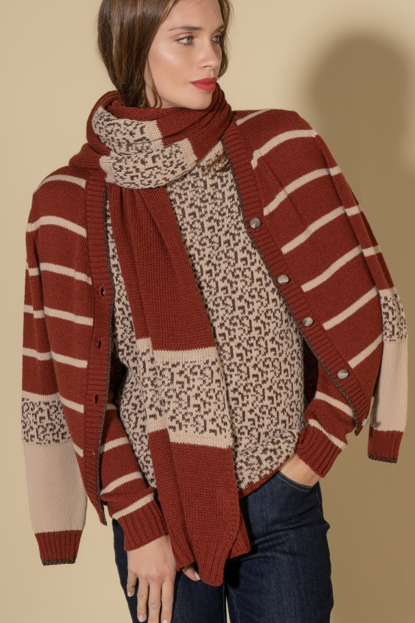 Heavy-weight scarf