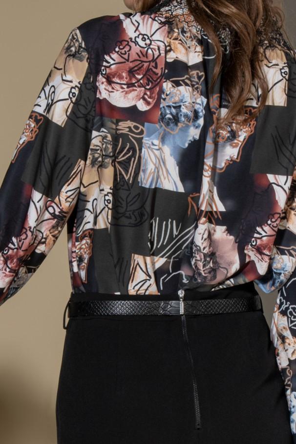 Digital print tunic