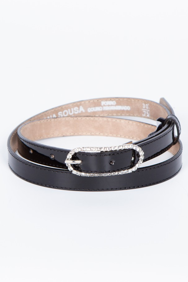 Sparkly thin belt