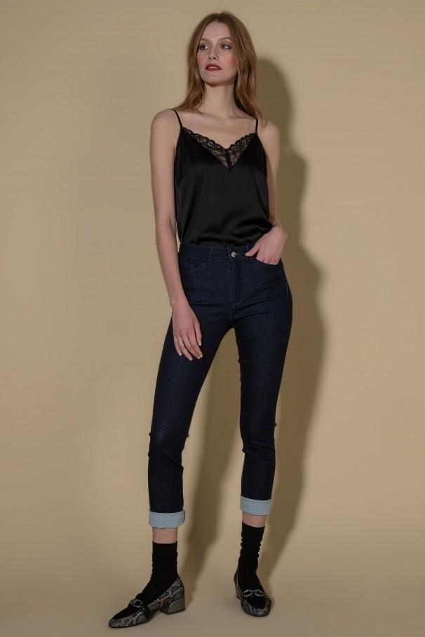 Angelia jeans Orange-Peel Reducer