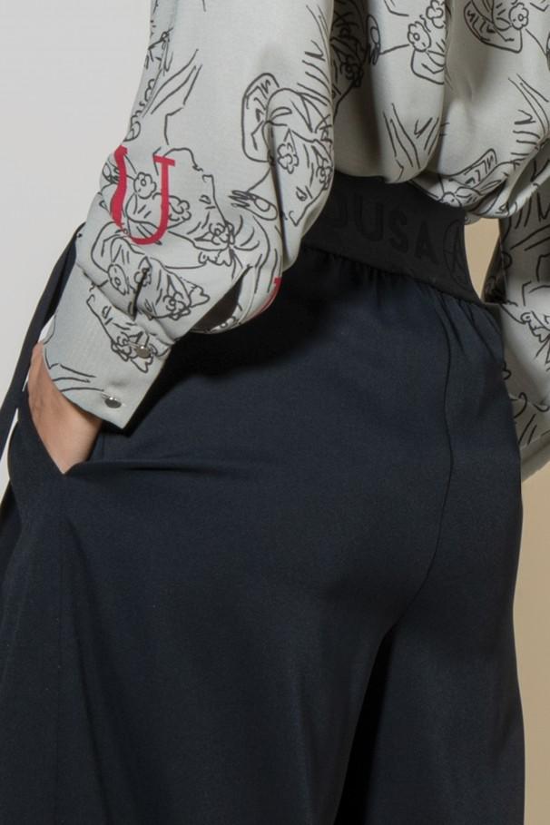 High waist culottes