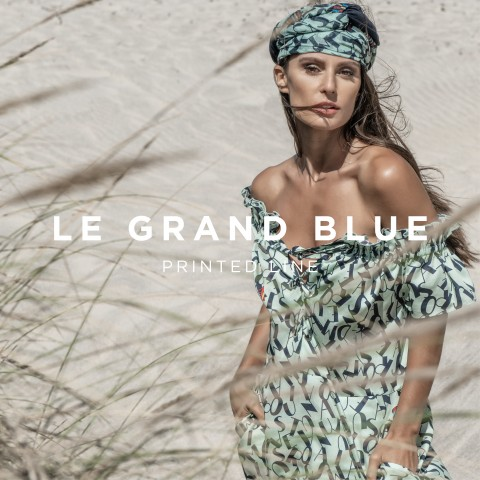 LE GRAND BLUE - PRINTED LINE