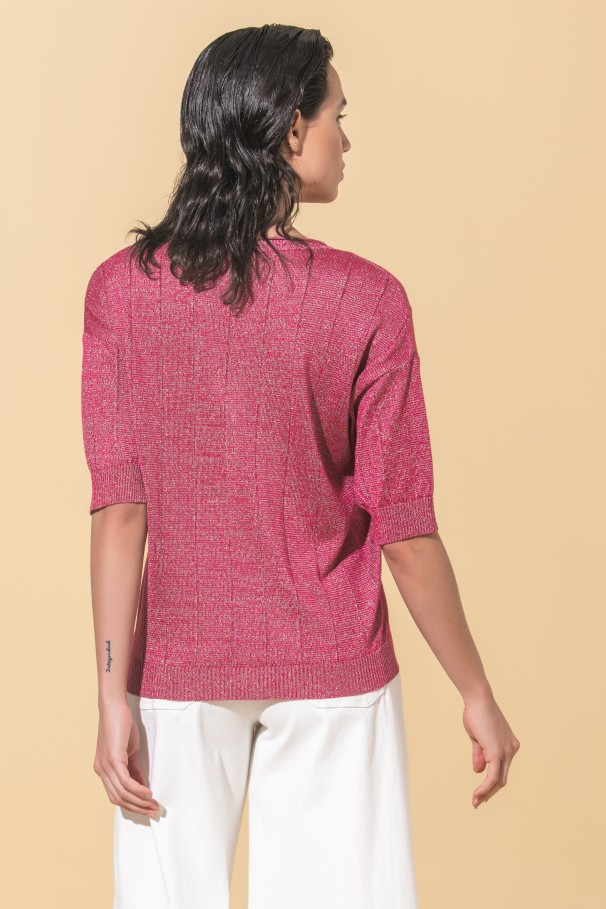 Shine knitted sweater