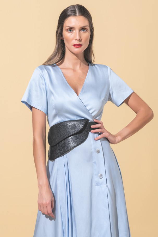 Asymmetric dress Flora Sustainable
