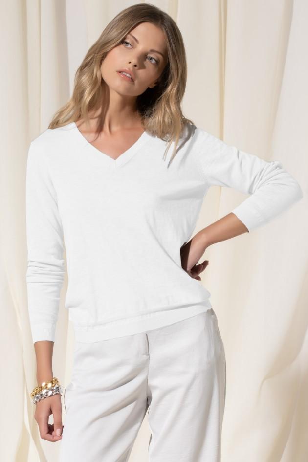 Fine-knit 100% cotton t-shirt