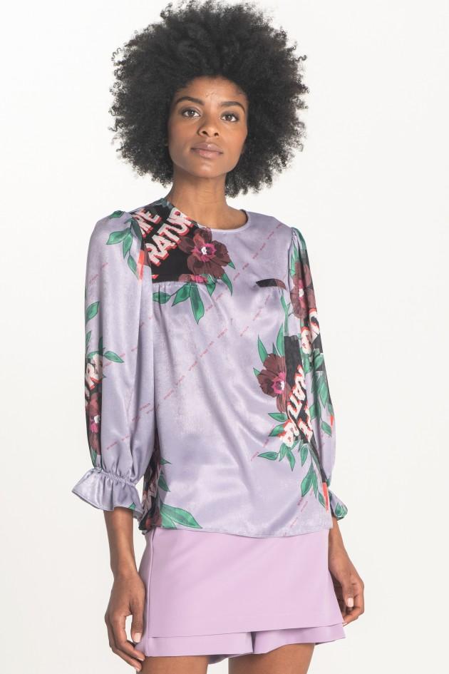 Satin blouse