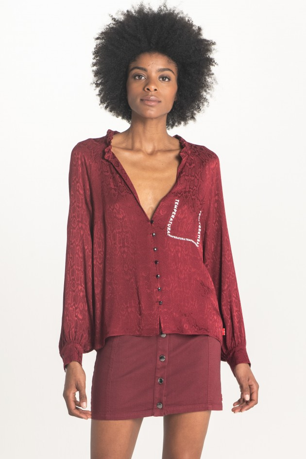 Jacquard blouse