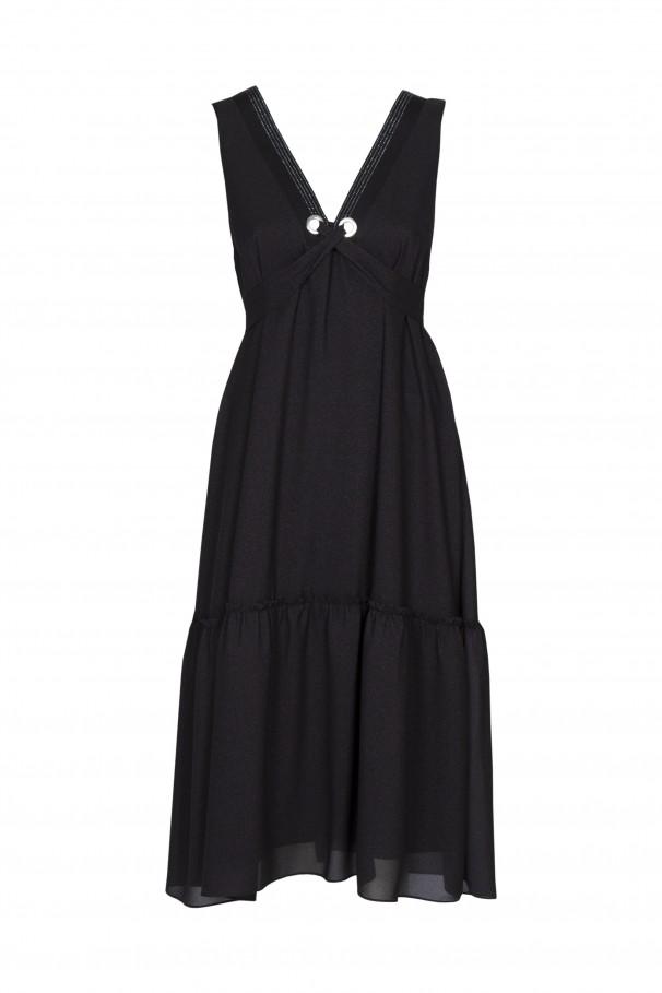Flowing midi dress