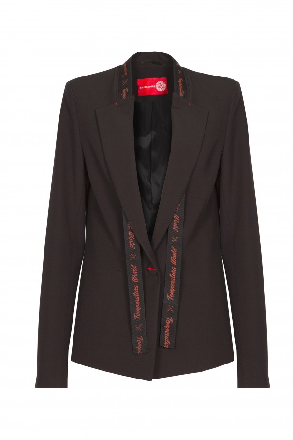 Blazer with strap customisable