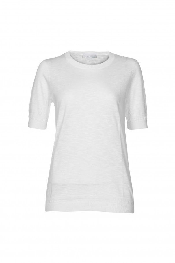 Fine-knit 100% cotton t-shirt