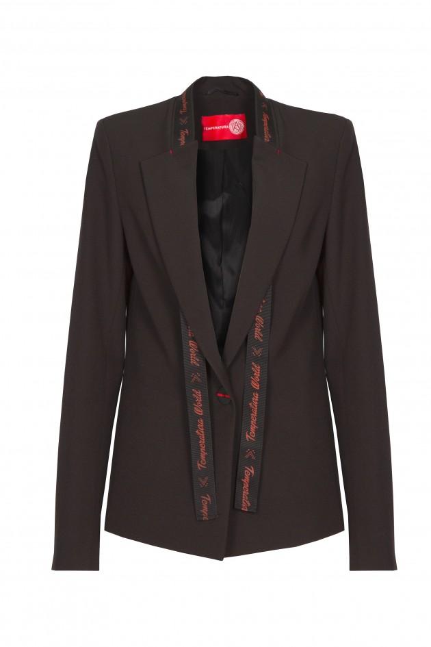 Blazer with strap customisable