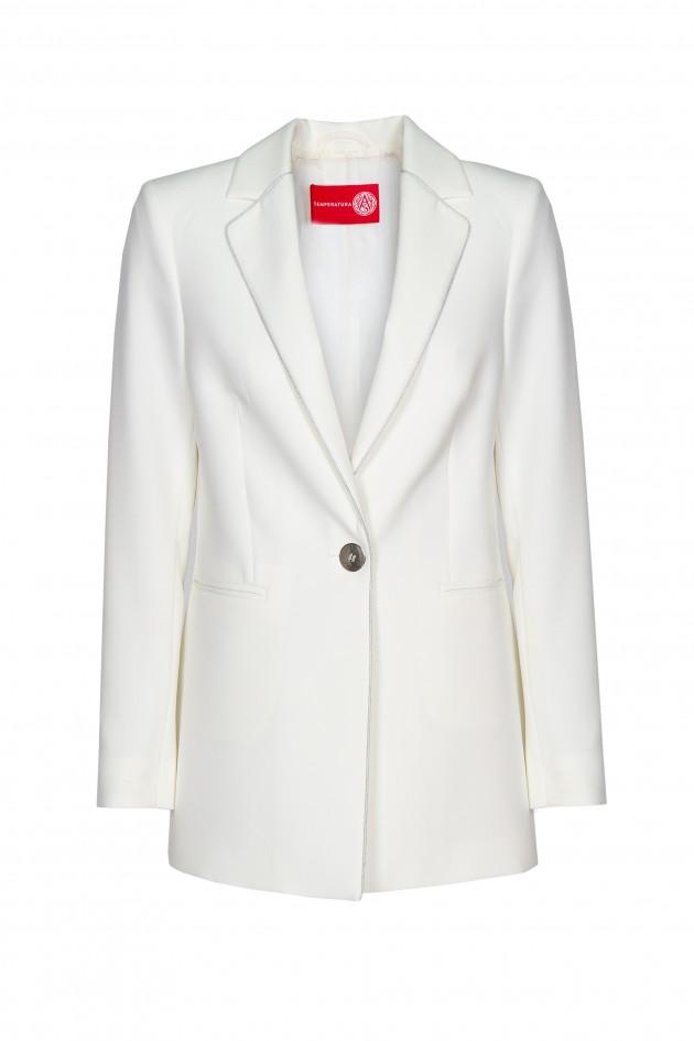 Straight fit blazer