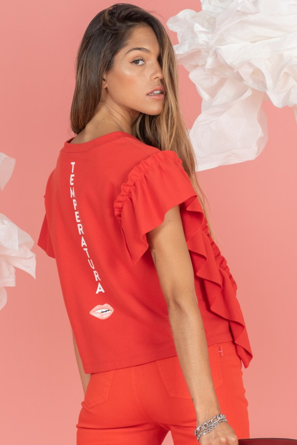 Frilly t-shirt