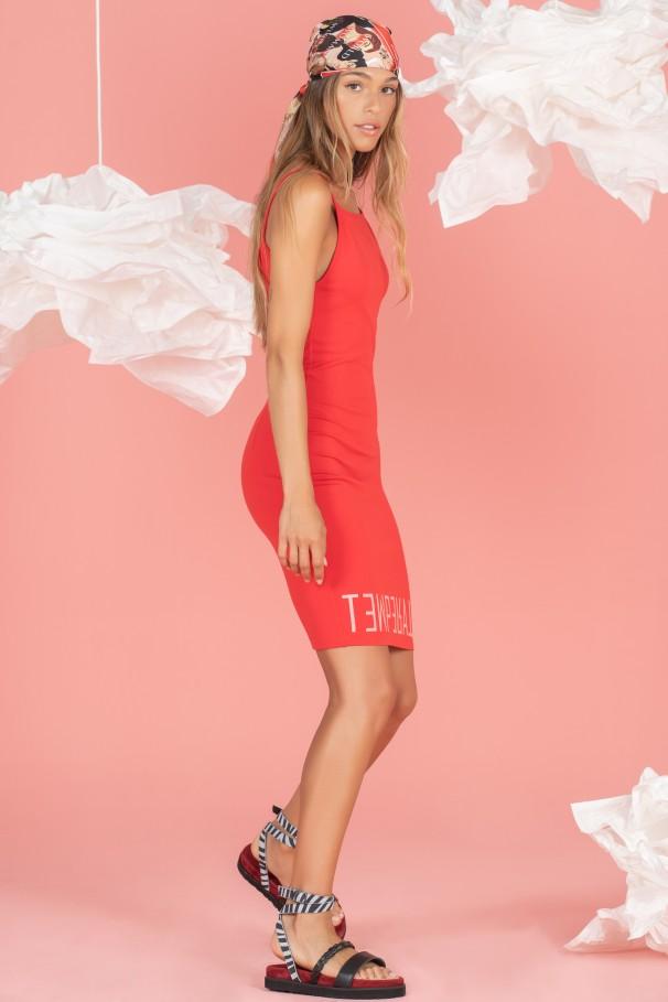 Slim fit dress