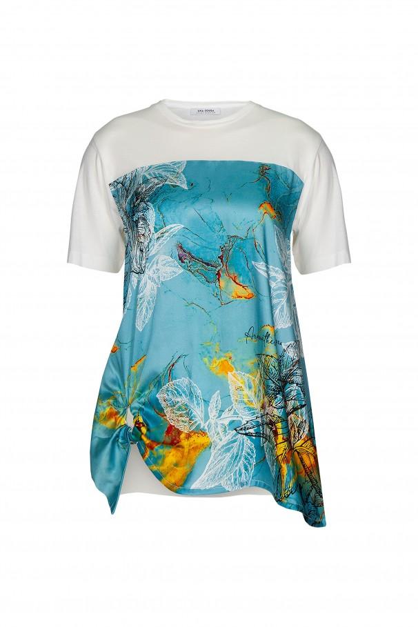 Camiseta manga corta aromaterapia Aura