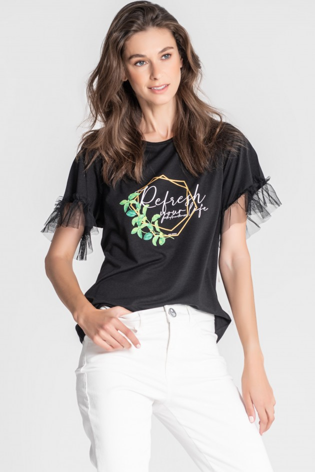 Aura aromatherapy t-shirt